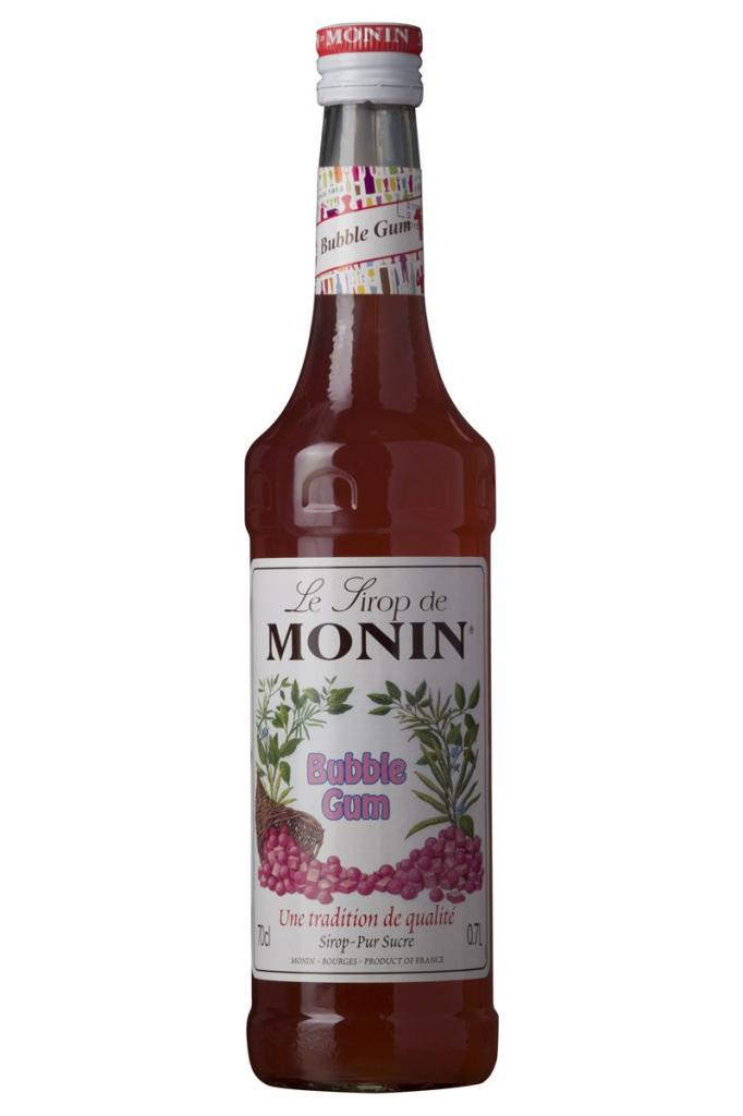 Monin Sirup Bubble Gum 70 cl.