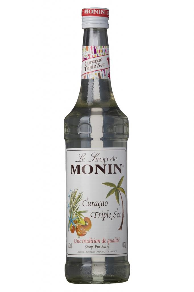 Monin Sirup Curacao Triple Sec 70 cl.