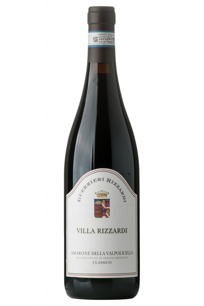2010 Amarone Villa Rizzardi, 3/4 ltr. Guerrieri-Rizzardi, DOC Cl