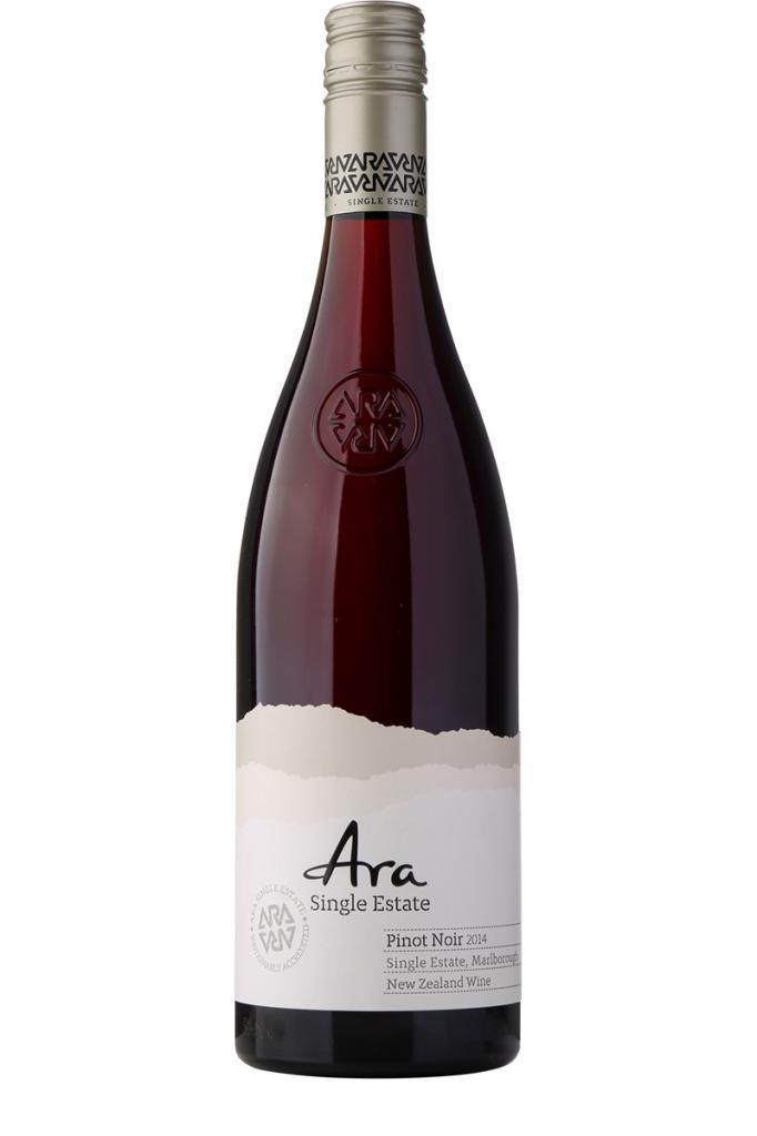 Ara Single Estate Pinot Noir, Winegrowers of ARA Pathway