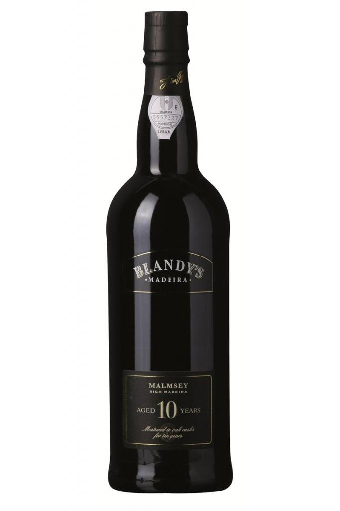 Blandy's 10 Years Old, Malmsey, 1/2 ltr., Blandy Brothers