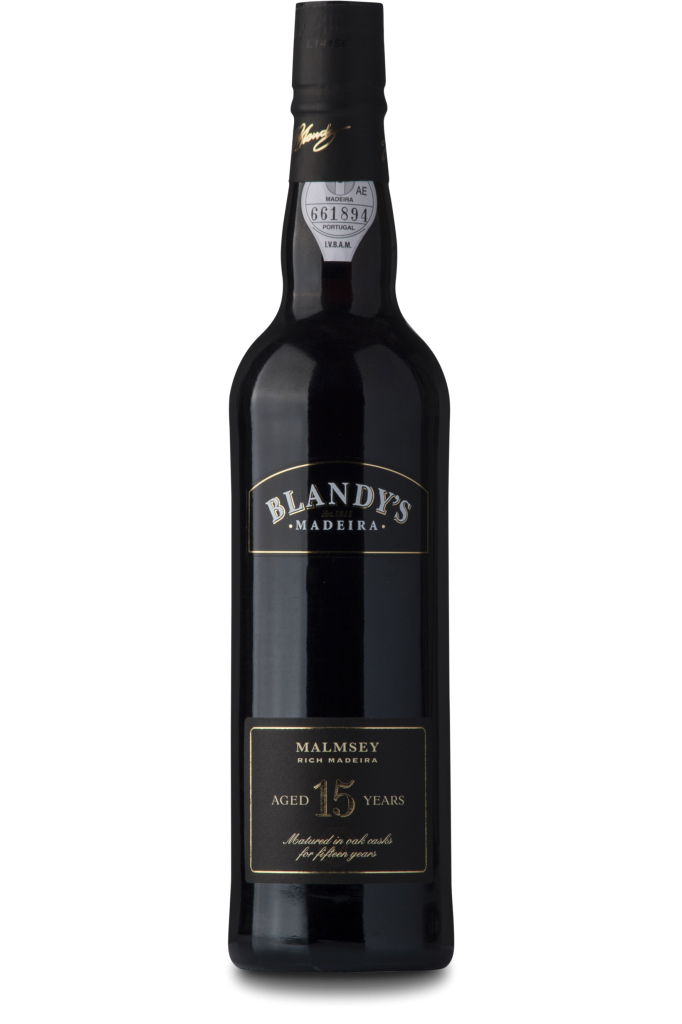 Blandy's 15 Years Old, Malmsey, Madeira, Blandy Brothers