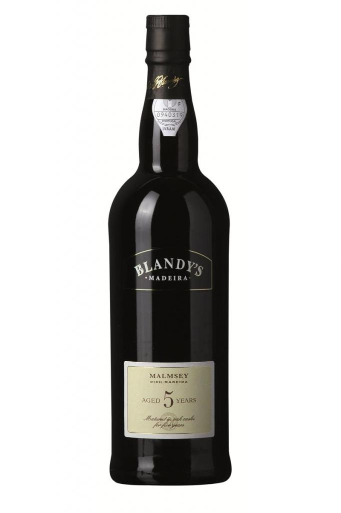 Blandy's 5 Years Old, Malmsey, 3/4 ltr., Blandy Brothers