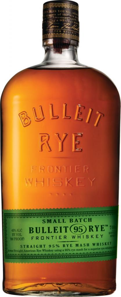 Bulleit Rye Whiskey, 70 cl