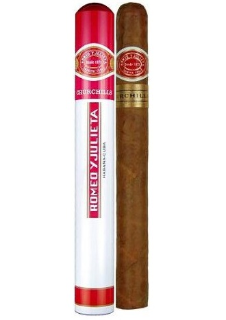 Romeo y Julieta Churchills (tubos)