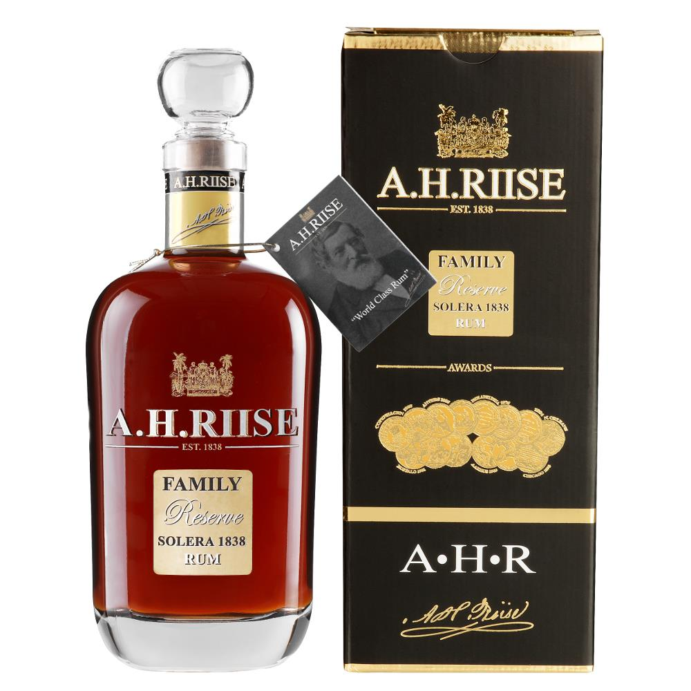 A.H. Riise Family Reserve Solera 1838 Rum, 42%