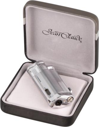 JEAN CLAUDE 3-flame jet lighter satinchrome (Varenr. 152,34503)