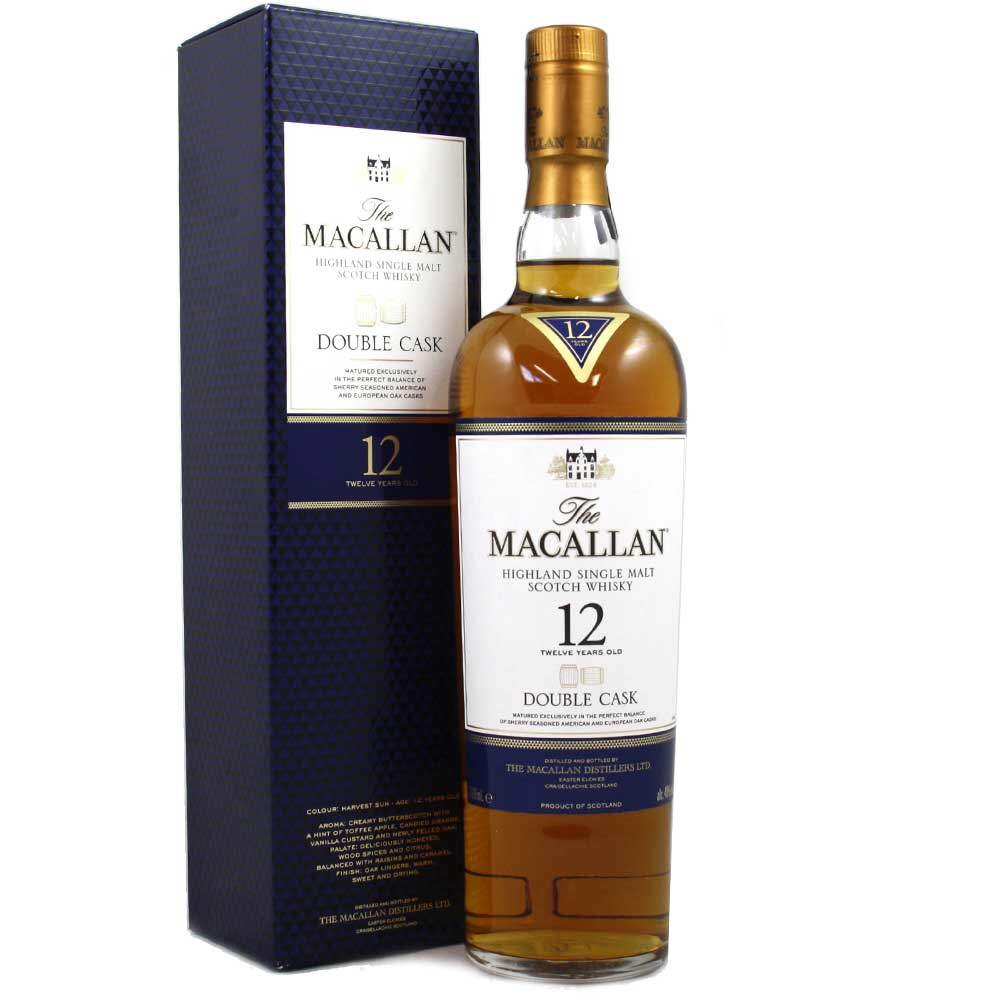 MacAllan Whisky 12 �rs Double Cask 40% 0,7 Ltr.