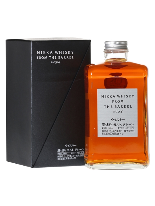Nikka From the Barrel 51,4% 0,5 Ltr.