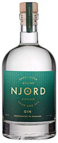 Njord Distilled Sand and Sea 45% 0,5 Ltr.