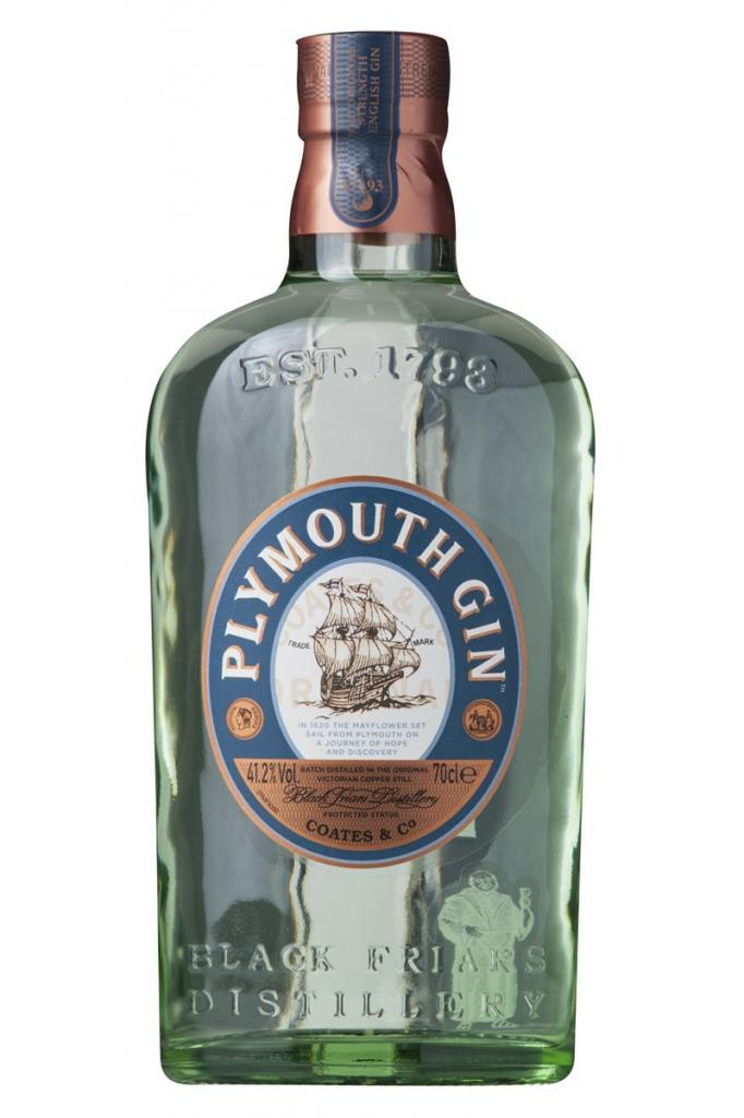 Plymouth Gin 41,2%, 3/4 ltr.
