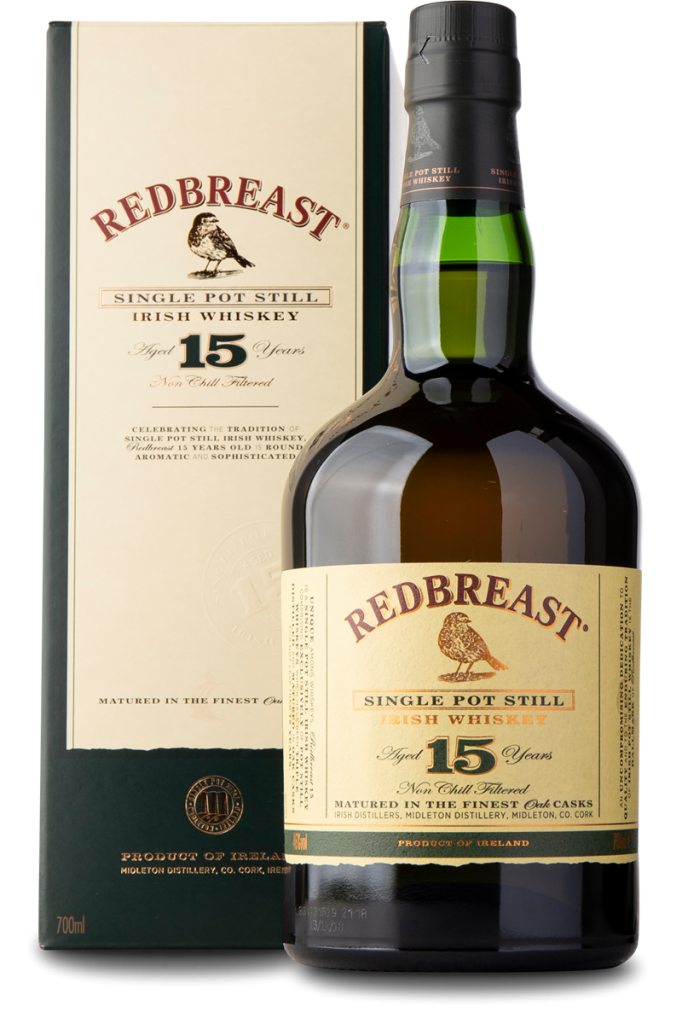 Redbreast Irish Whisky 15 �r