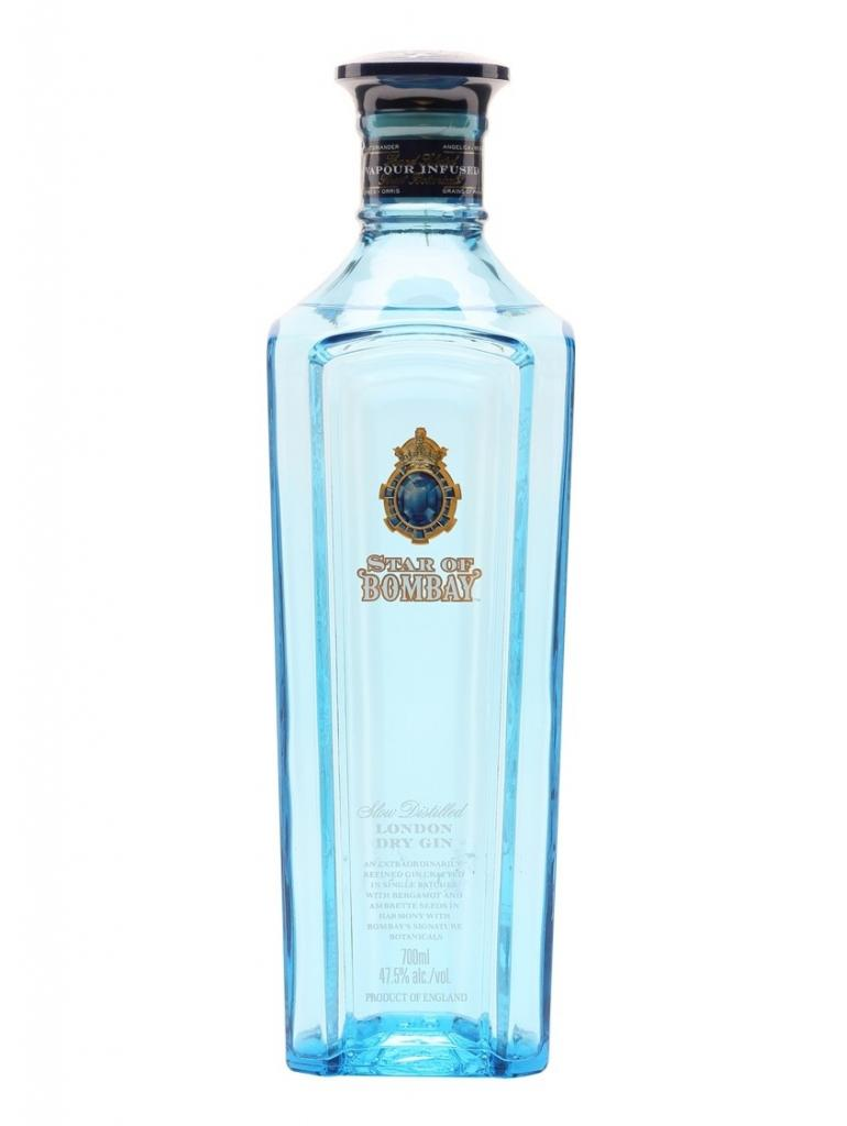 Star of Bombay, 47,5% 0,7 ltr.