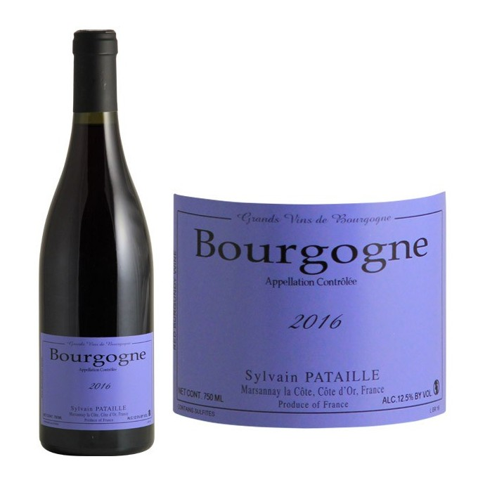 Bourgogne Rouge, Domaine Sylvain Pataille