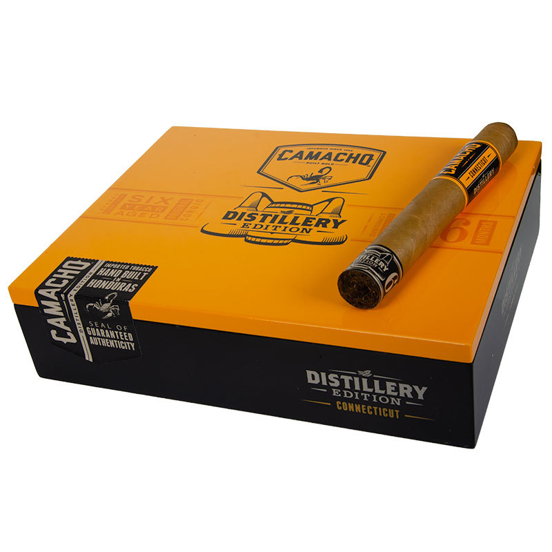 Camacho Distillery Edition orange (1 stk. 150 kr.)