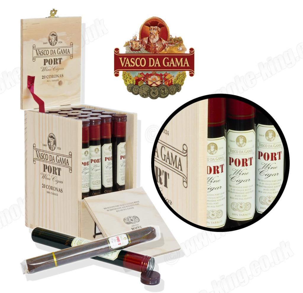 1 stk. Vasco Da Gama- Port Wine Cigar -Oporto