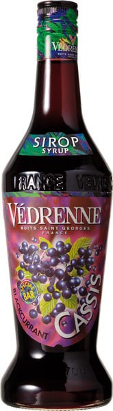 Vedrenne Black Currant Sirup 25 cl.